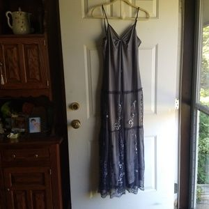 Long evening dress Grey - size 8